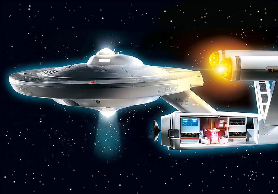 PLAYMOBIL Star Trek USS Enterprise review recentie speelgoedisleuk bouwwerk