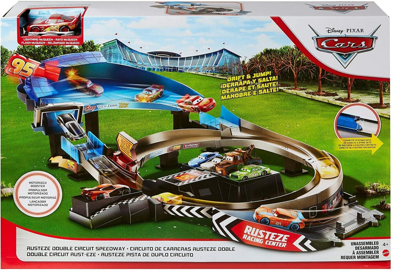Disney Cars Rusteze Racebaanset speelgoed is leuk recentie review